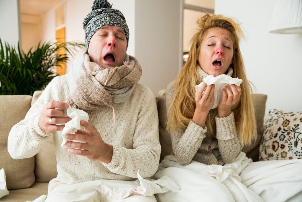 felső légúti betegségek