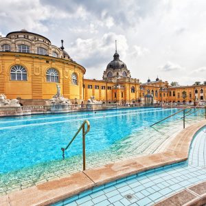 gyógyfürdő széchenyi fürdő budapest magyarország