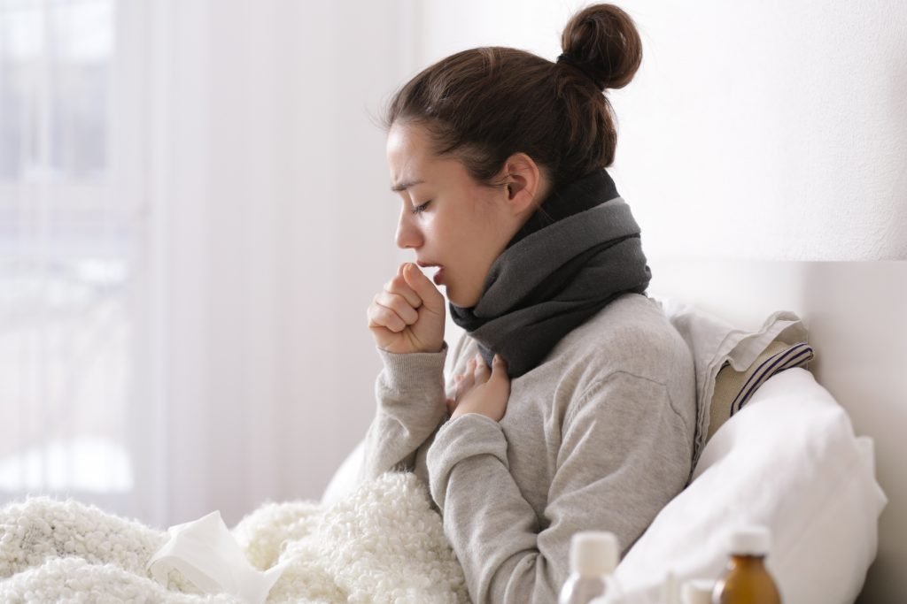 tüdőgyulladás köhögés