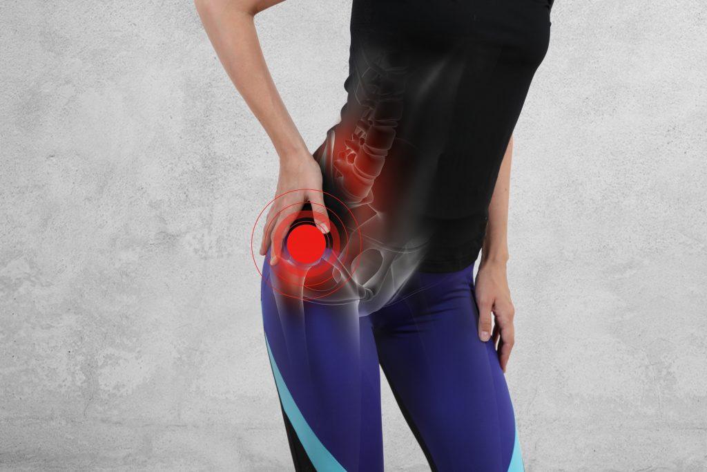 csípőízület fájdalma és összeroppant kezelése